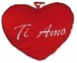 Out of the blue 62/6095 pluszowe serce Ti Amo