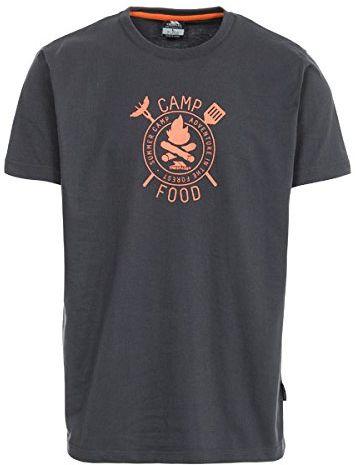 Trespass męska koszulka z krótkim rękawem Adder Krzemień XXS