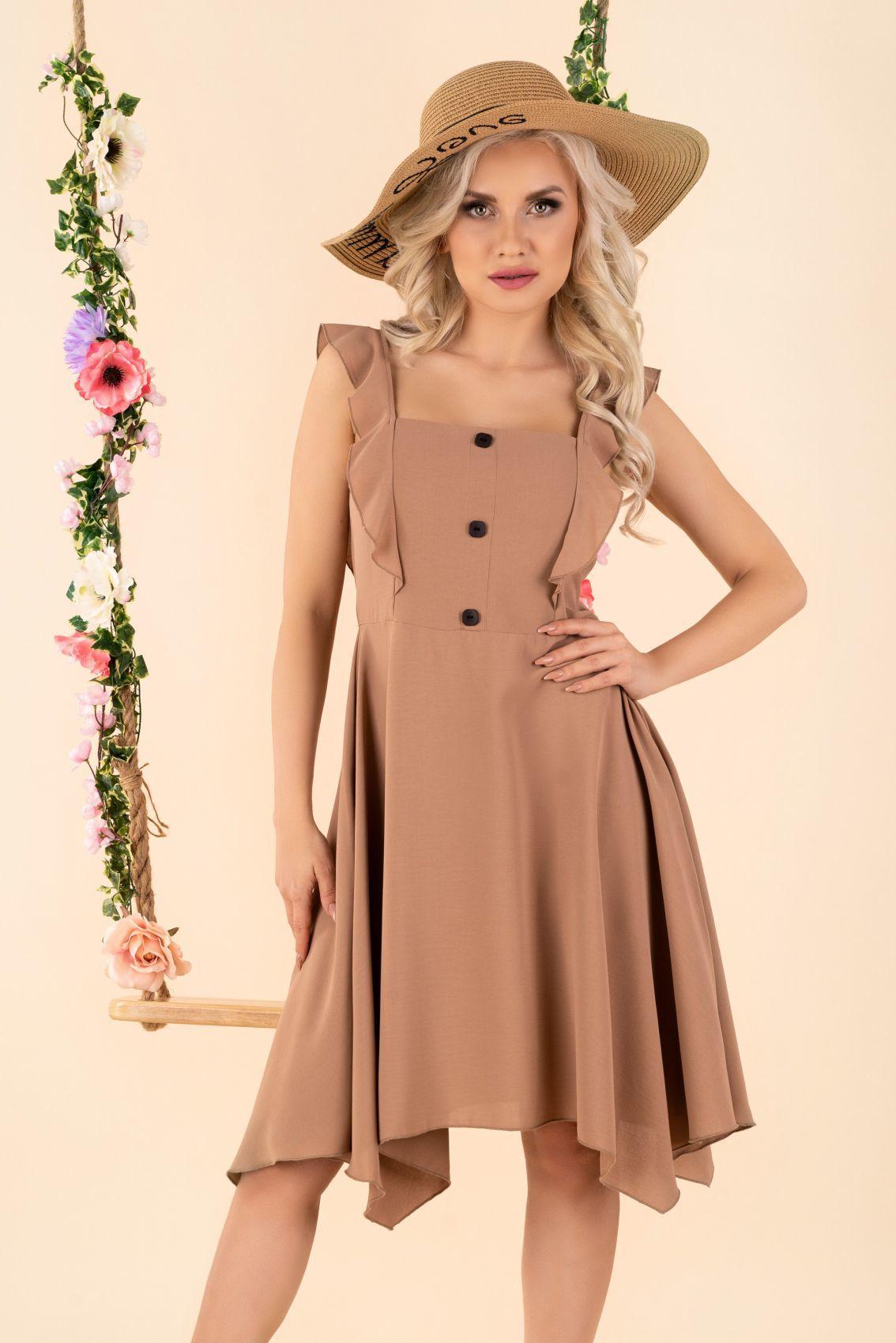 Quellama Coffee D54 sukienka