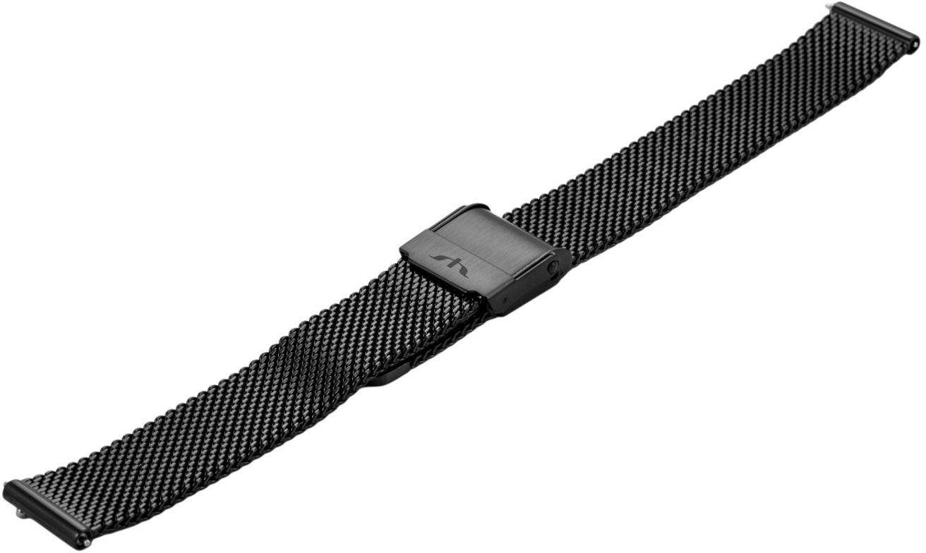 Bransoleta stalowa do zegarka 12 mm Bisset BM-101.12 Black