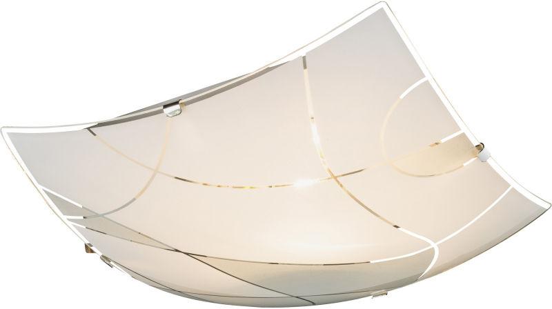 Globo PARANJA plafon lampa sufitowa 40403-1 biały chrom 1xE27 25cm