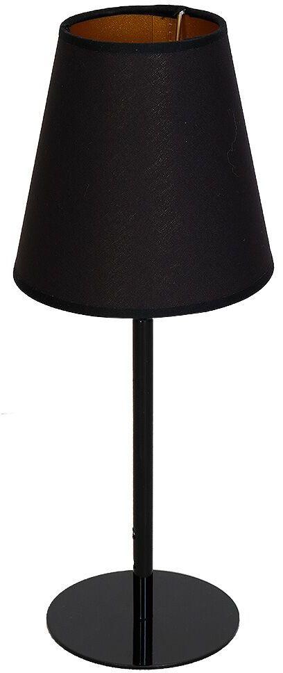 Lampa stołowa CHOCCO 933B Aldex czarna oprawa stojąca w minimalistycznym stylu