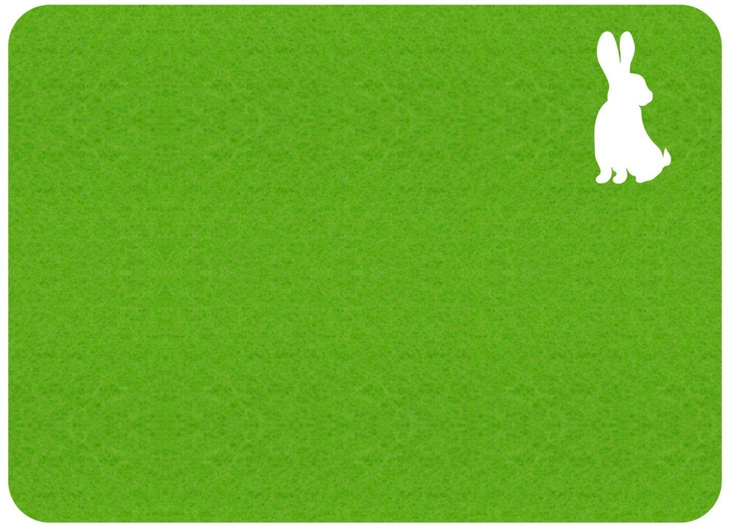 Podkładka pod talerz - Zajączek Wielkanocny - 40 cm - 1 szt.