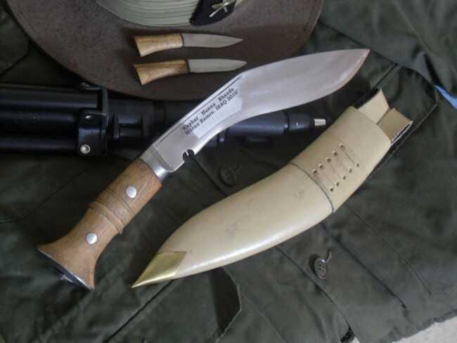 Nóż khukri Gurkhów Irak EKH-NAK-07