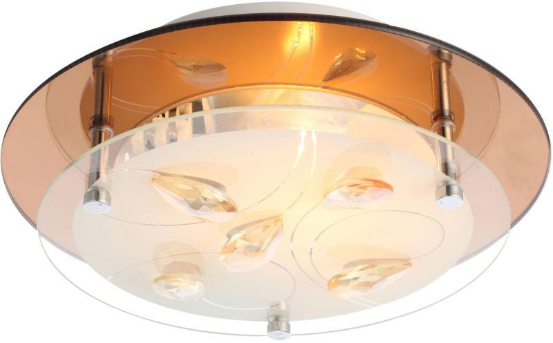 Globo AYANA 40413 plafon lampa sufitowa złoty 1xE27 25cm