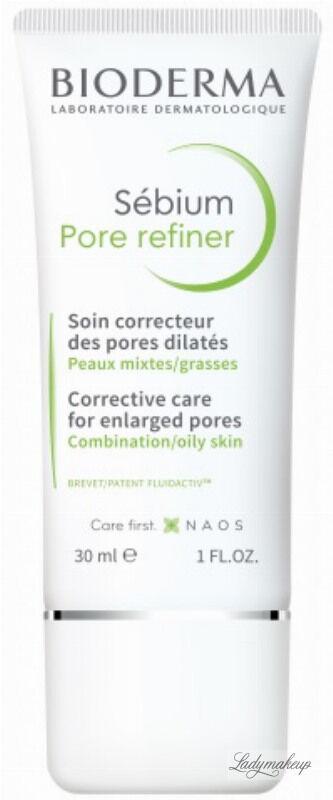 BIODERMA - Sebium Pore Refiner - Krem do twarzy zwężający pory - 30 ml