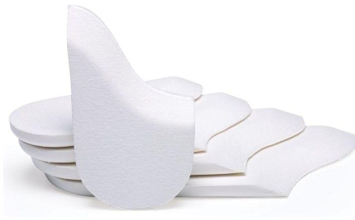 Podpiętki do buta ortopedycznego korygujące ustawienie ścięgna Achillesa (AHW)