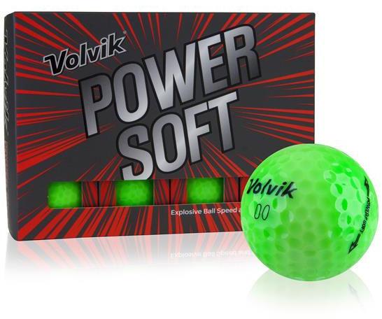 Piłki golfowe VOLVIK POWER SOFT (zielony)