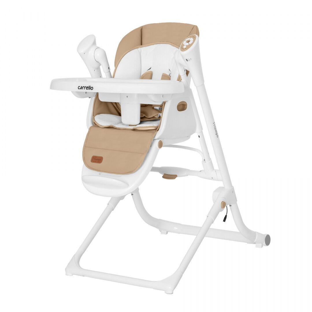 CARRELLO Krzesełko do karmienia Triumph CocoaBrown