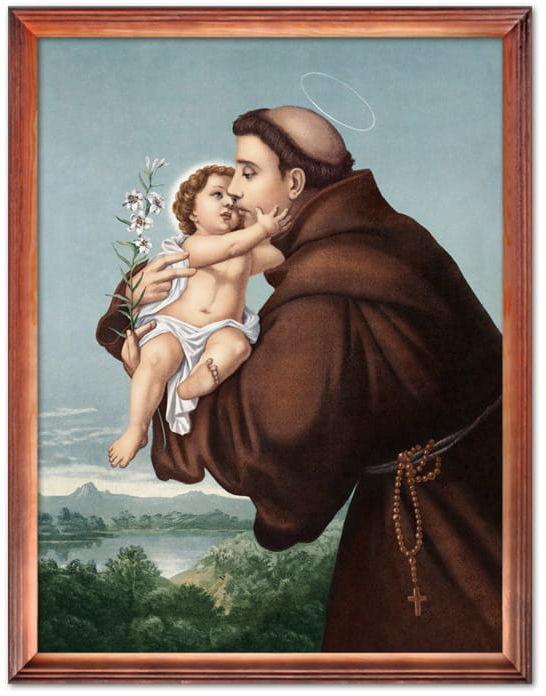 Obraz Święty Antoni z Padwy