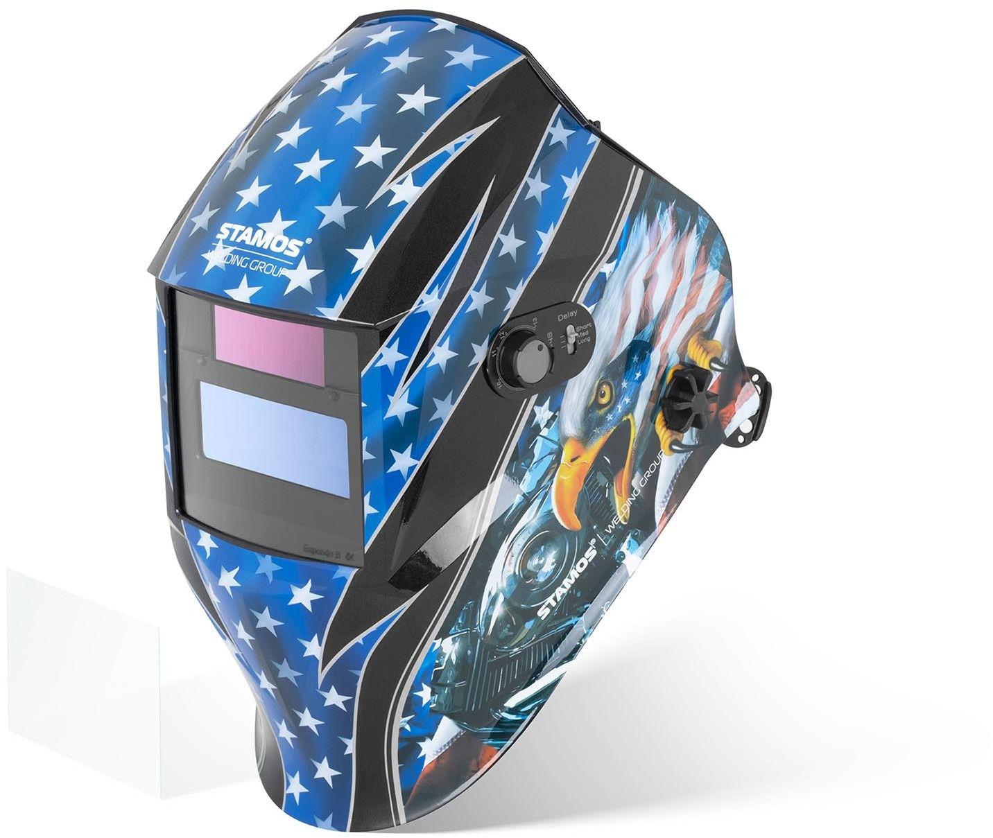 Maska spawalnicza - Hero - Easy - Stamos Welding - Hero Easy Series - 3 lata gwarancji/wysyłka w 24h