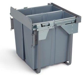 Wysuwany segregator odpadów 60, 2x 34 L GTV