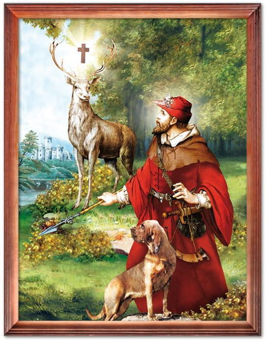Obraz Święty Hubert