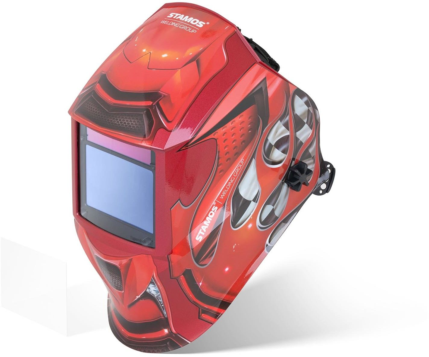 Maska spawalnicza - Red Race - Expert - Stamos Welding - Red Race - 3 lata gwarancji/wysyłka w 24h