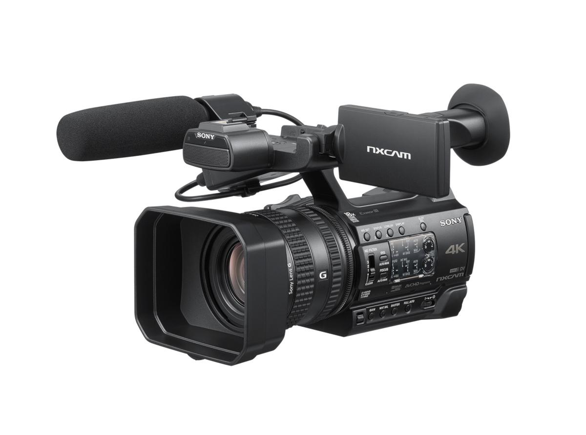 Sony HXR-NX200 - kamera kompaktowa 4K z przetwornikiem CMOS Sony NXCAM HXR-NX200