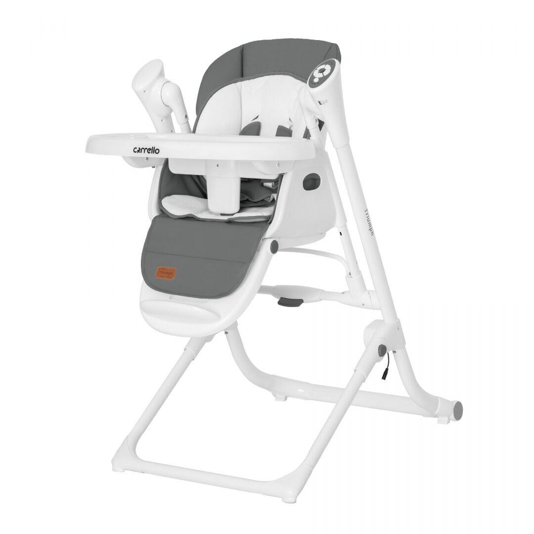 CARRELLO Krzesełko do karmienia Triumph Grey
