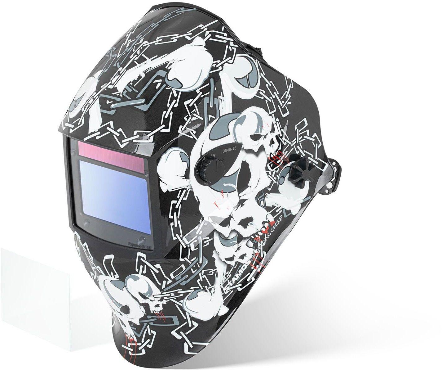 Maska spawalnicza - Black Skull - Advanced - Stamos Welding - Black Skul Advanced Series - 3 lata gwarancji/wysyłka w 24h