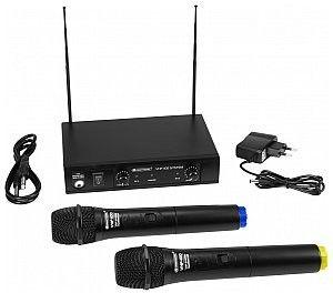 OMNITRONIC VHF-102 Mikrofon bezprzewodowy 214.35/201.60MHz