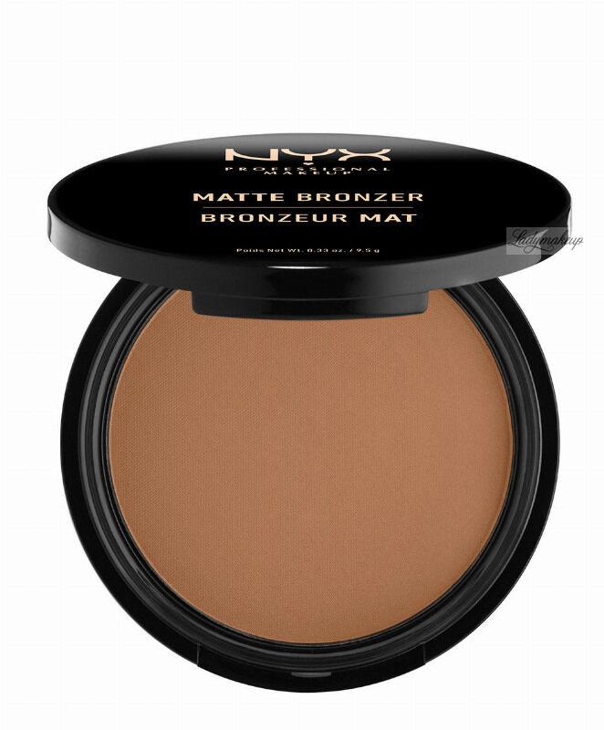 NYX Professional Makeup - MATTE BRONZER POWDER - Matowy puder brązujący - 03 - MEDIUM