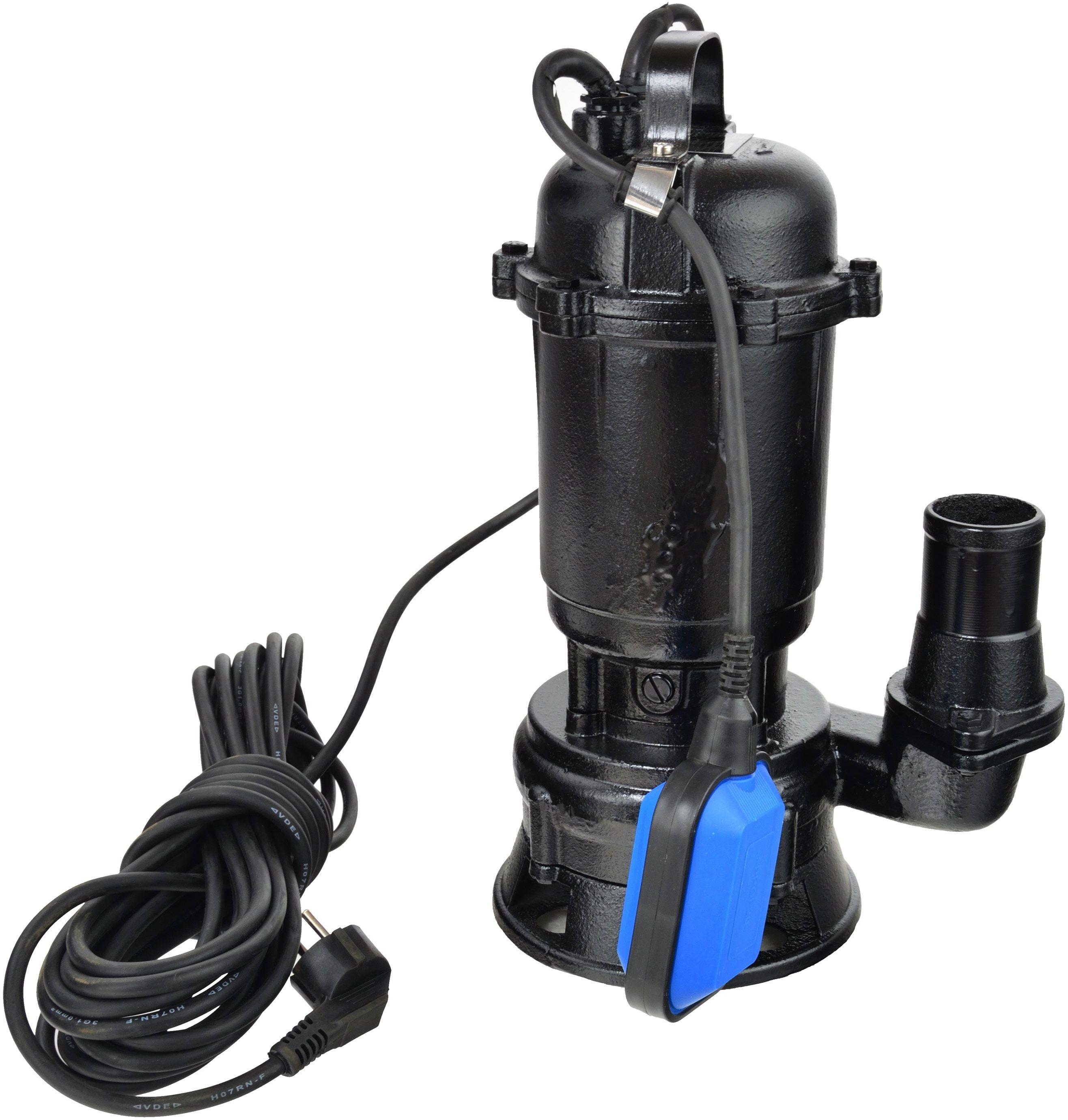 Pompa do wody szamba z rozdrabniaczem (pływak) 2950W GEKO