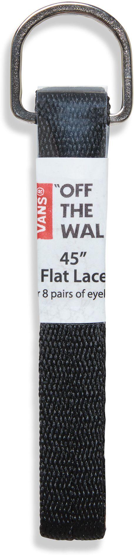 sznurowadła VANS FLAT LACES 45 Black