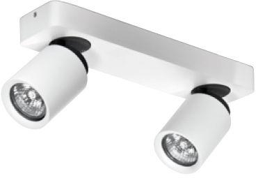 Reflektor Tomi 2 AZ0663 AZzardo biała oprawa w nowoczesnym stylu