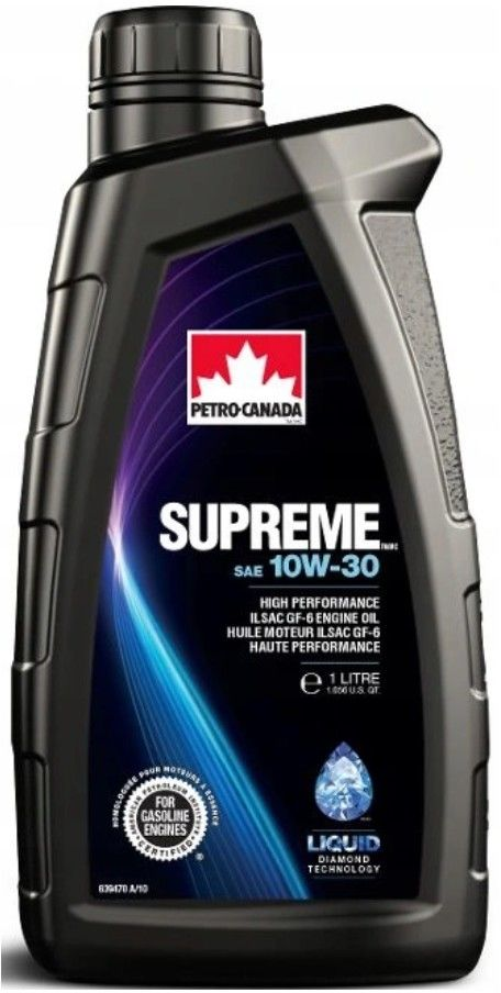 SUPREME 10W-30 1 l. olej silnikowy technologia syntetyczna