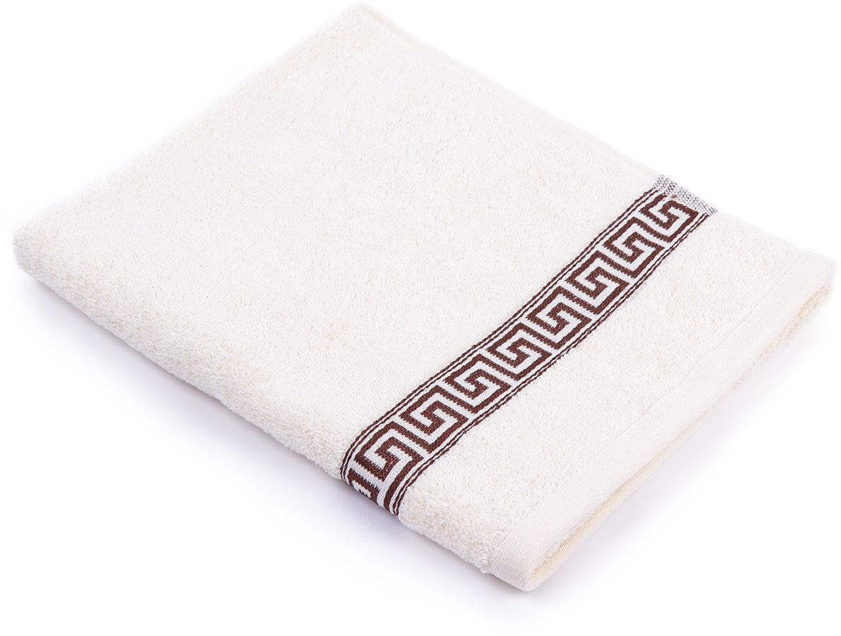 Ręcznik Greek  kremowy, 50 x 90 cm