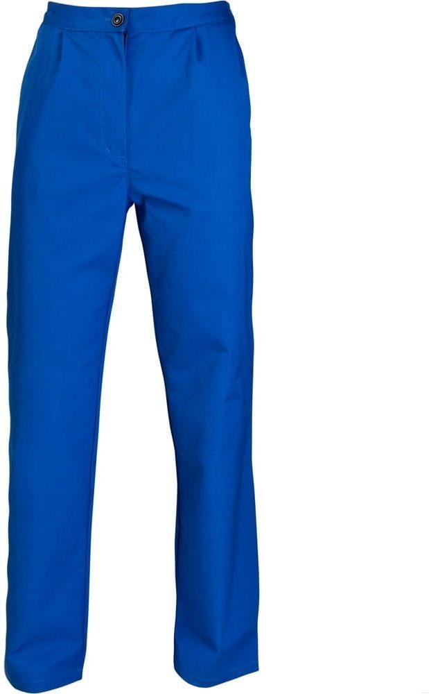 Spodnie do pasa damskie niebieskie