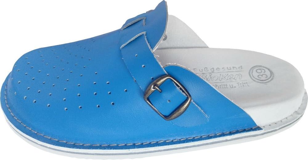 Fusbet klapki obuwie skórzane