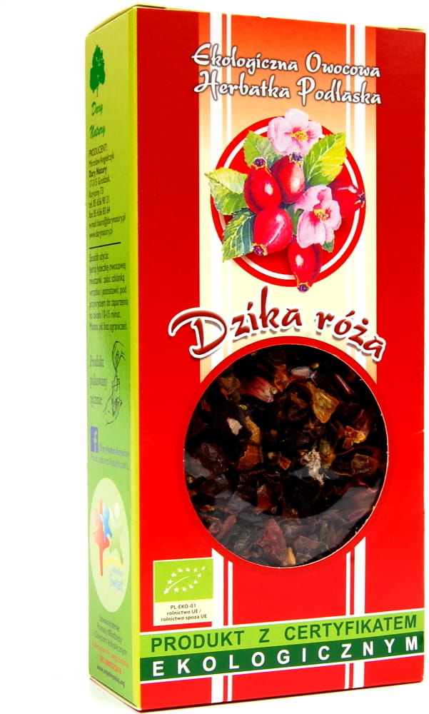 Dary Natury Herbatka Dzika Róża EKO 100g