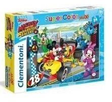 Puzzle 24 Maxi Mickey & Roadster Racers - Clementoni
