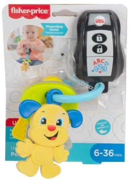 Fisher-Price Ucz się i śmiej Podróżne kluczyki Muzyczna zabawka edukacyjna dla dzieci GRF15