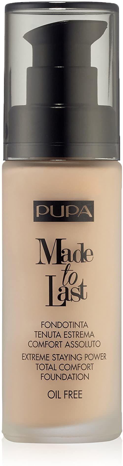 Pupa Made To Last Foundation 020 Light Beige