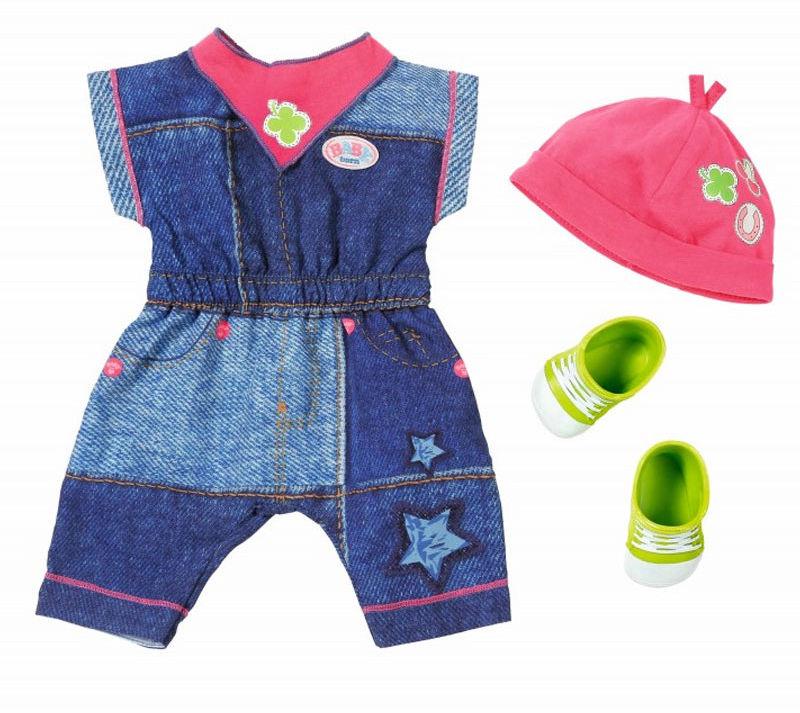 BABY Born - Jeansowa kolekcja Kombinezon 824498