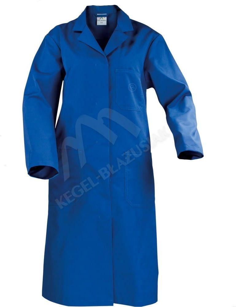 Fartuch damski z kieszeniami (niebieski)