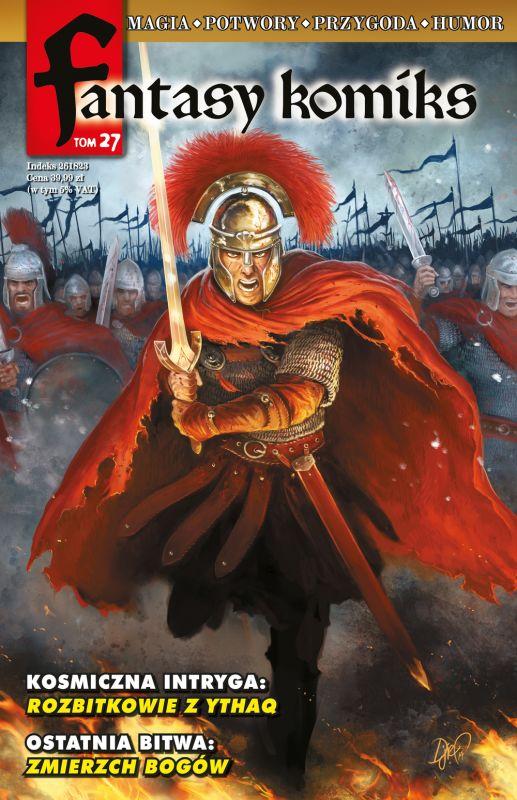 Fantasy Komiks Tom 27 ZAKŁADKA DO KSIĄŻEK GRATIS DO KAŻDEGO ZAMÓWIENIA