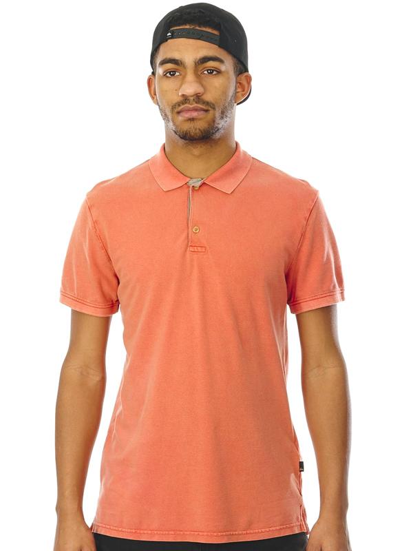 Quiksilver MIZKIMITT BURNT SIENNA męska koszulka polo - S