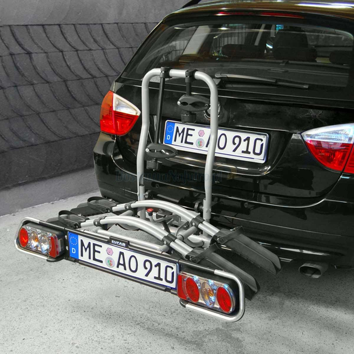 Bagażnik na rowery platforma JAKE EUFAB na 2+1 rowery