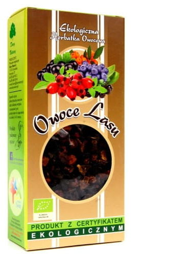 Dary Natury Herbatka Owoce Lasu EKO 100g