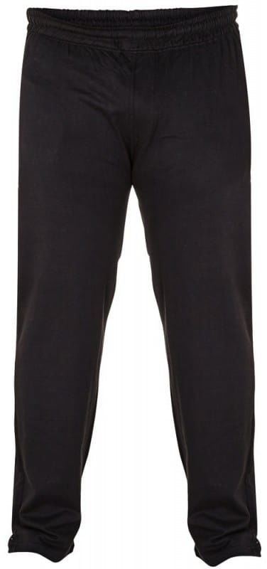 RORY-D555 Duże Spodnie Dresowe Czarne