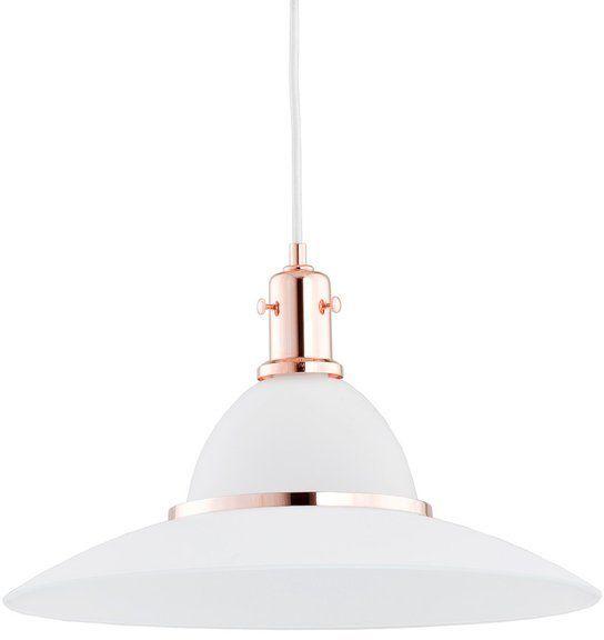 Nowoczesny lampa sufitowa MILEY I miedź śr. 42cm