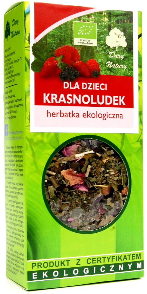 Dary Natury Herbatka Dla Dzieci Krasnoludek EKO 50g