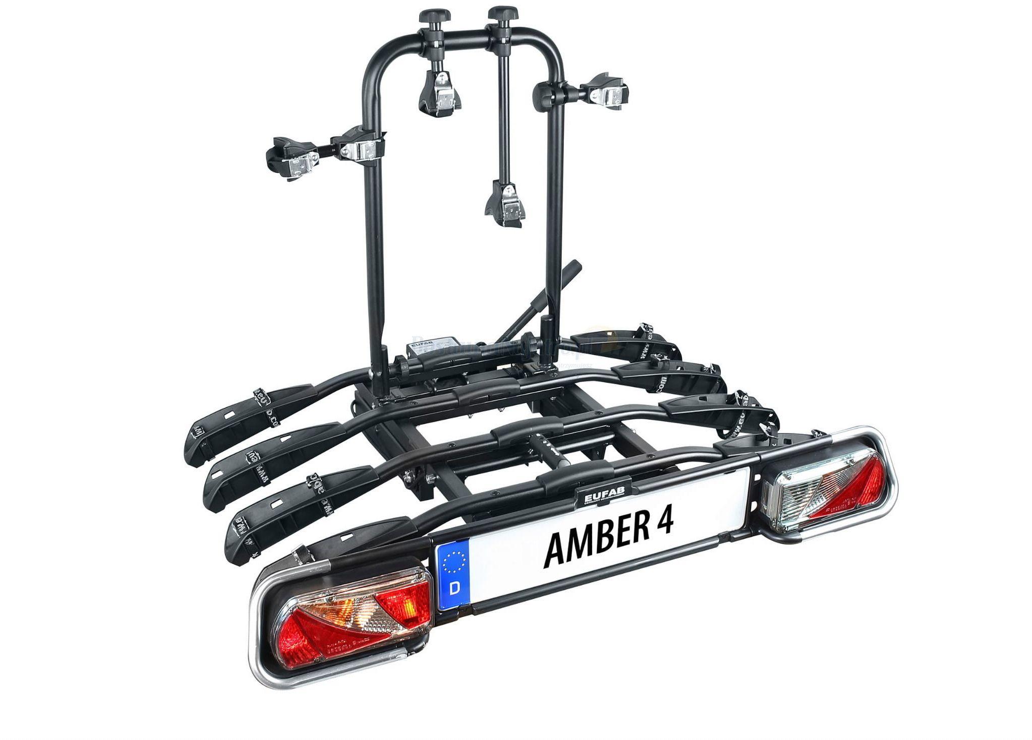 Bagażnik na rowery EUFAB AMBER 4 uchwyt na hak
