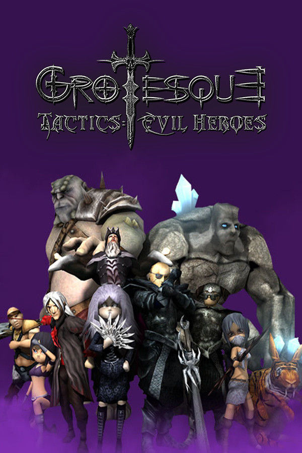 Grotesque Tactics: Evil Heroes (PC) klucz Steam