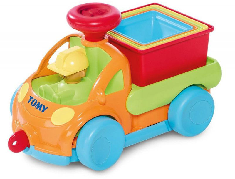 Tomy - Samochód Piramidka z ruchomą kierownicą E72467