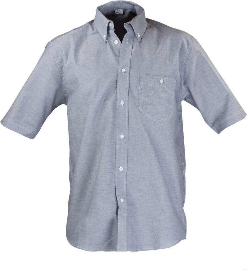 Koszula męska kelnerska z kr. rękawem