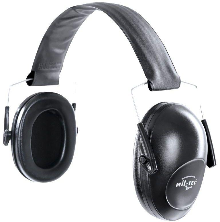 Mil-Tec Słuchawki Strzeleckie Ochronne Czarne
