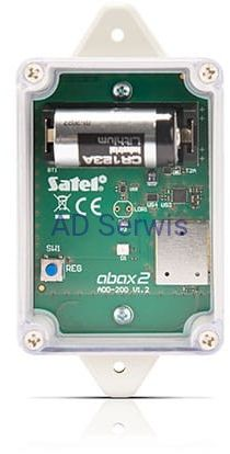 ADD-200 Zewnętrzna bezprzewodowa czujka zmierzchu i temperatury Satel