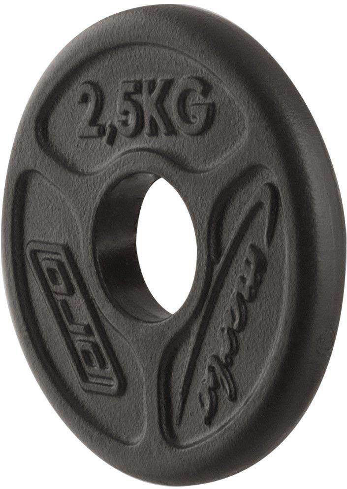 Obciążenie olimpijskie żeliwne 2,5kg MW-O2I5-OLI - Marbo Sport